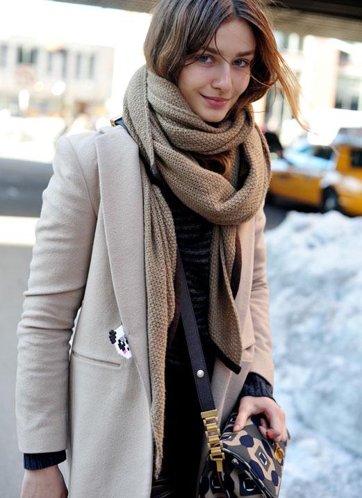 Winter Fashion Add Color To Your Winter Wardrobe