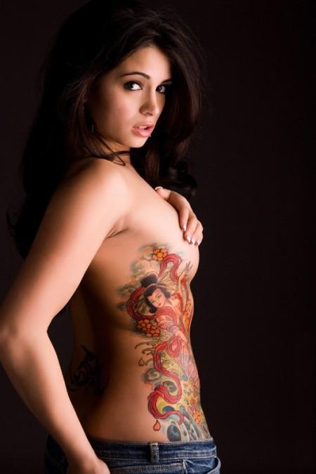 c64a5f20b Amazing Rib Tattoos for Girls