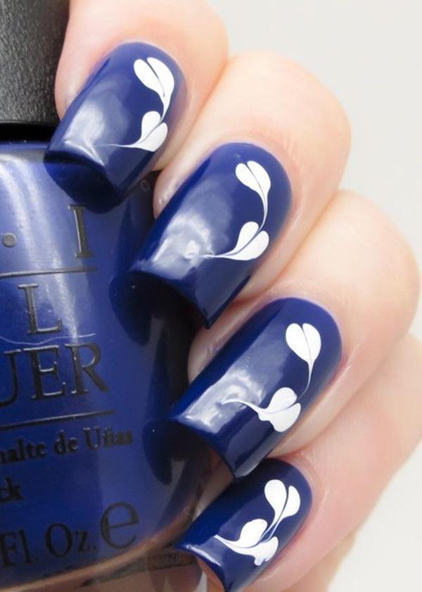 marble nail art designs (10)