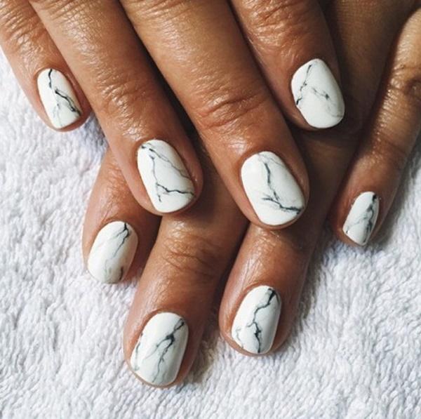 marble nail art designs (101)