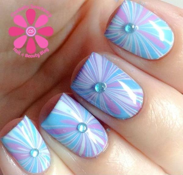 marble nail art designs (103)