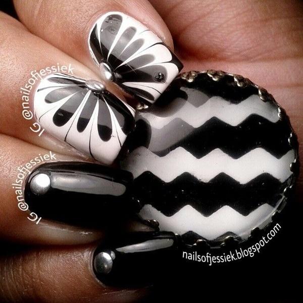 marble nail art designs (107)