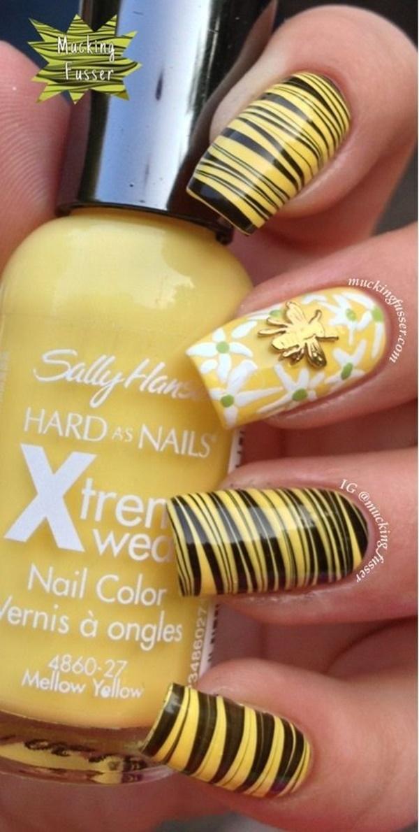 marble nail art designs (13)