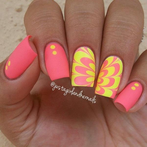 marble nail art designs (15)