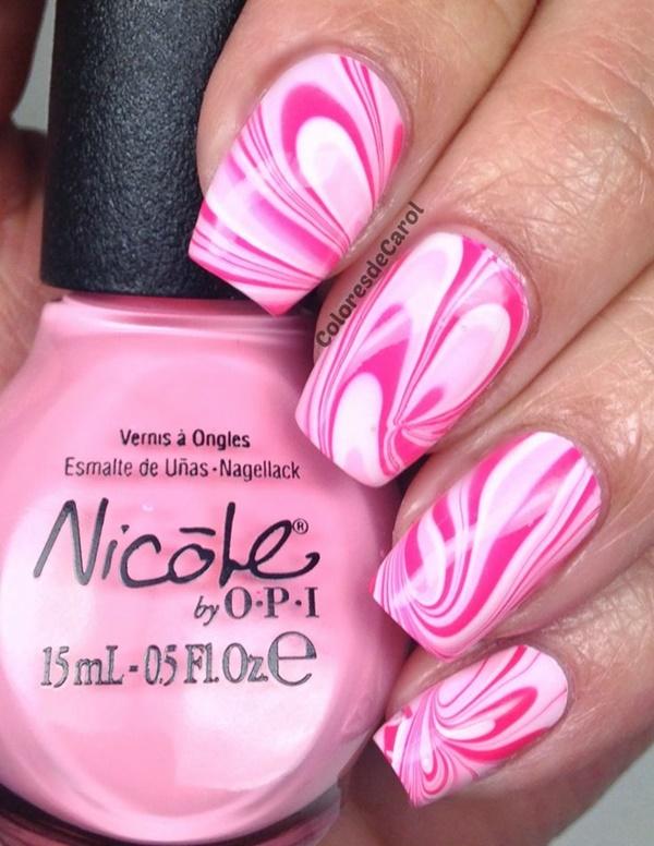 marble nail art designs (2)