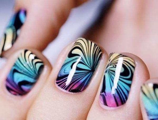 marble nail art designs (22)