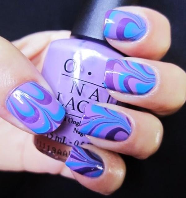 marble nail art designs (23)