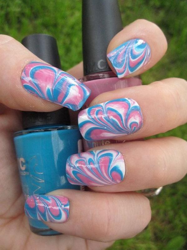marble nail art designs (30)