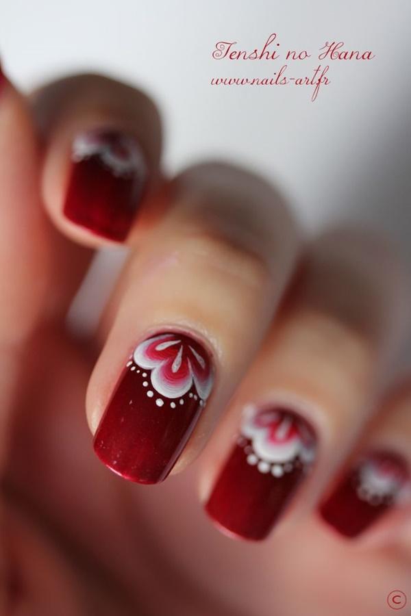 marble nail art designs (32)