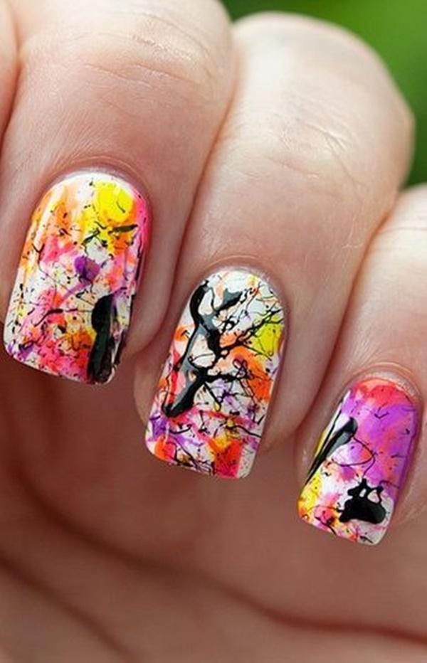 marble nail art designs (34)