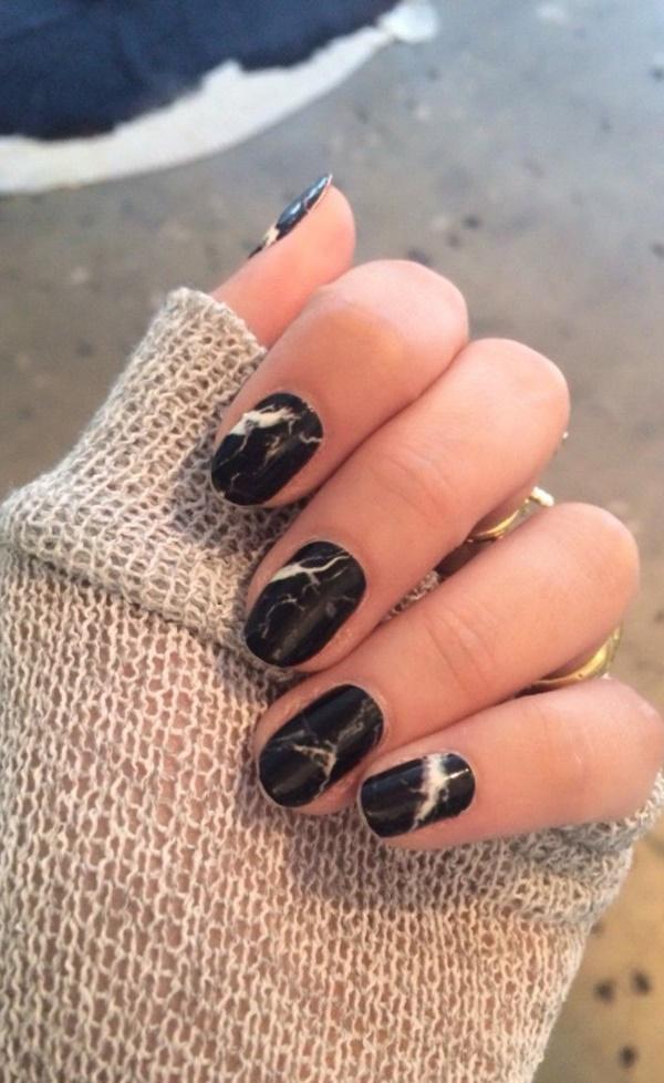 marble nail art designs (38)