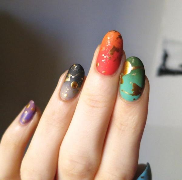 marble nail art designs (41)