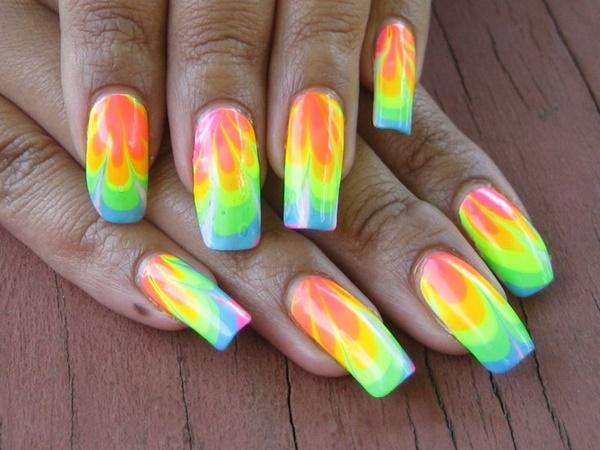 marble nail art designs (43)