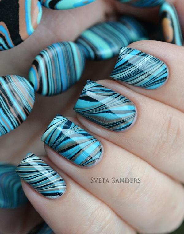 marble nail art designs (45)
