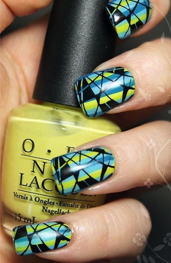 marble nail art designs (46)