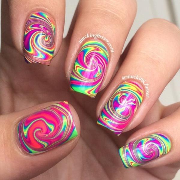 marble nail art designs (51)