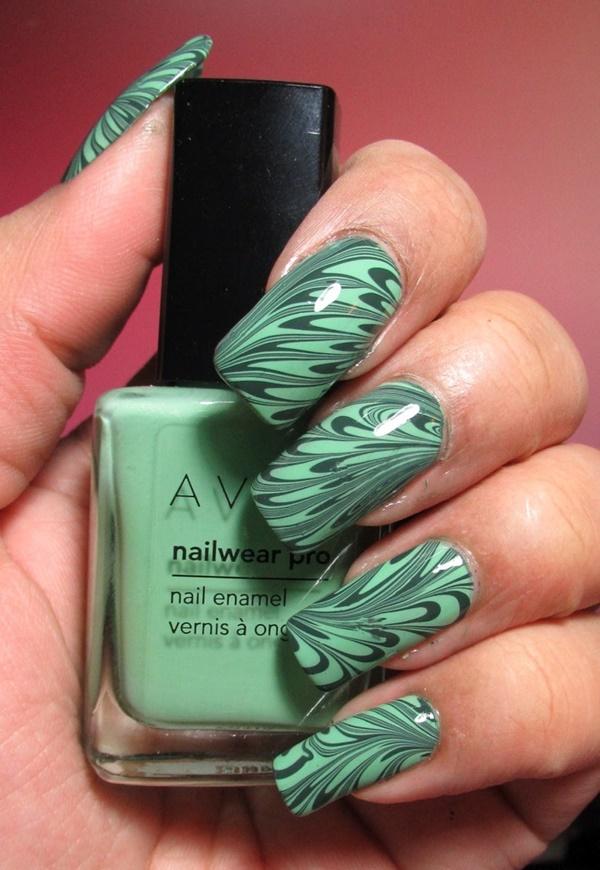 marble nail art designs (52)