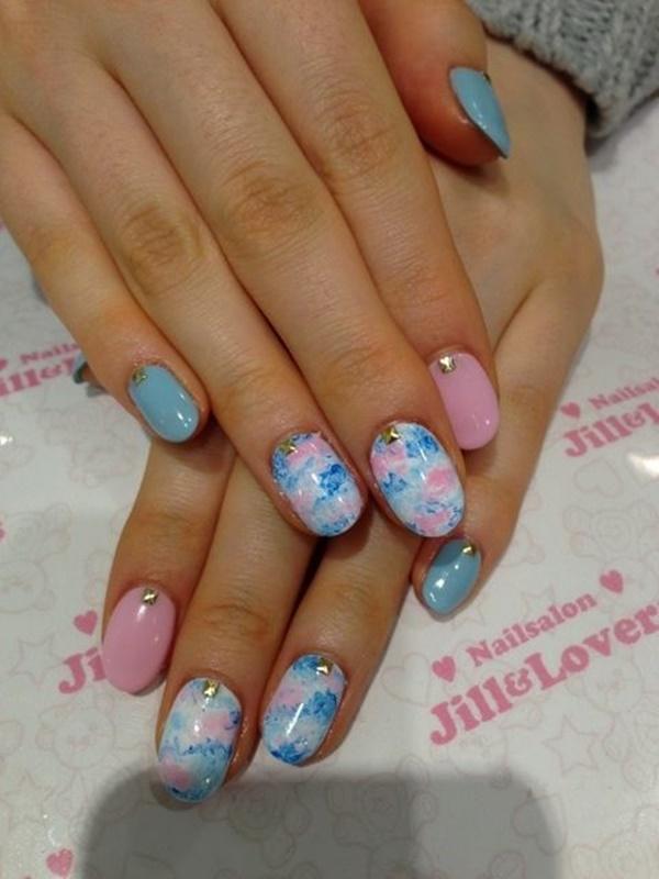 marble nail art designs (53)
