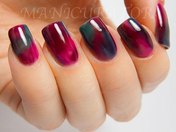 marble nail art designs (54)