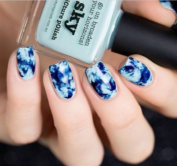 marble nail art designs (55)