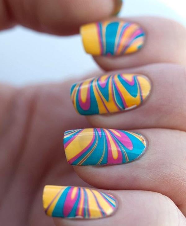 marble nail art designs (56)