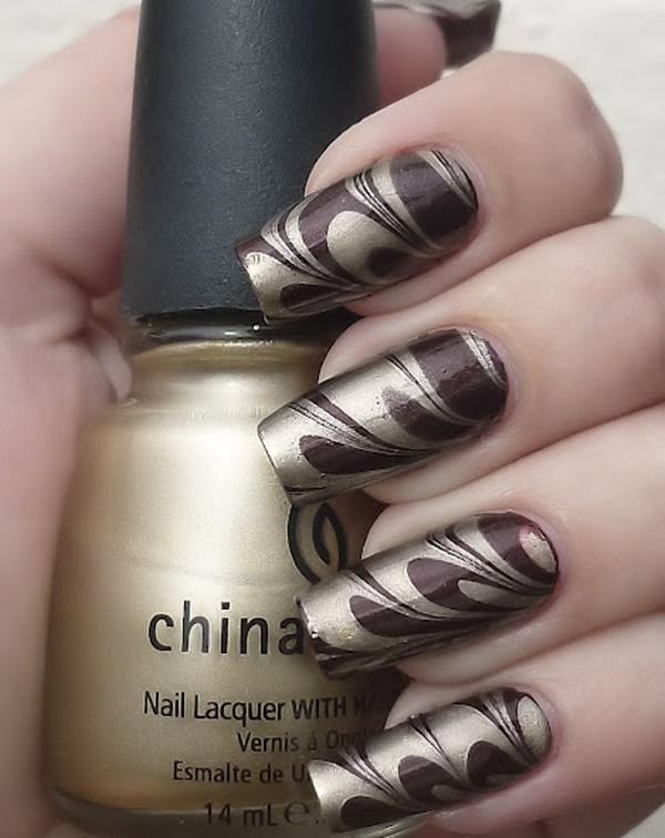 marble nail art designs (58)