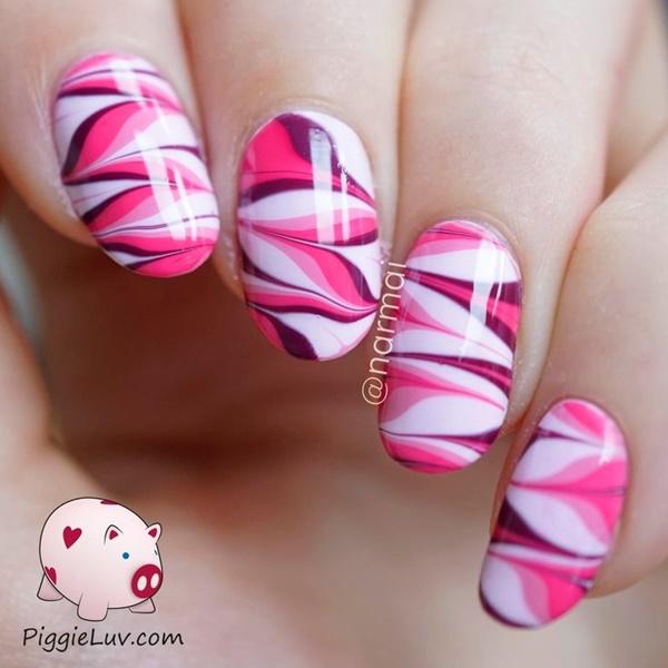 marble nail art designs (6)