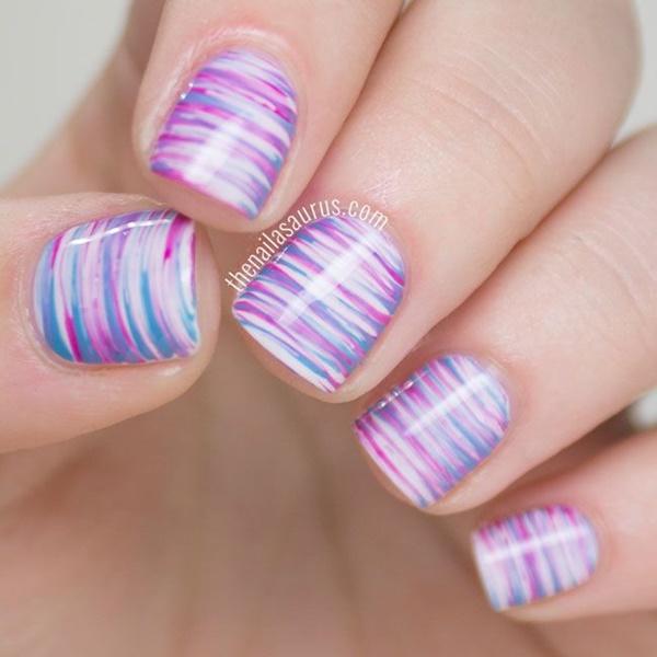 marble nail art designs (61)