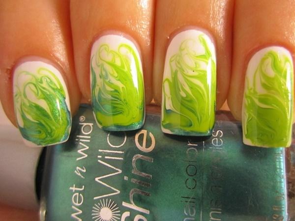 marble nail art designs (63)
