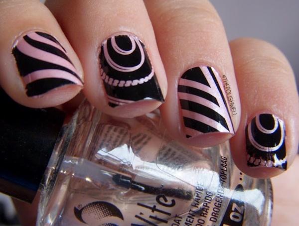 marble nail art designs (69)
