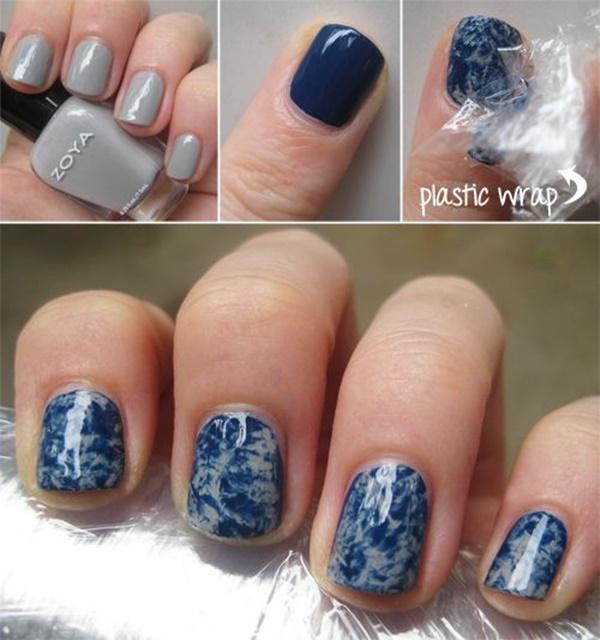marble nail art designs (7)