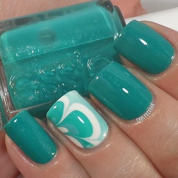 marble nail art designs (74)