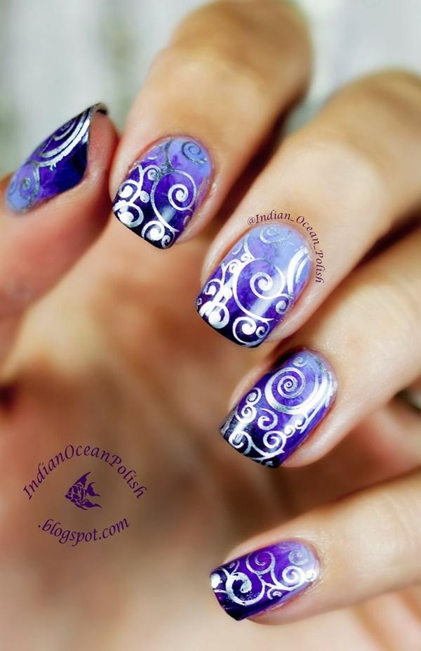marble nail art designs (77)