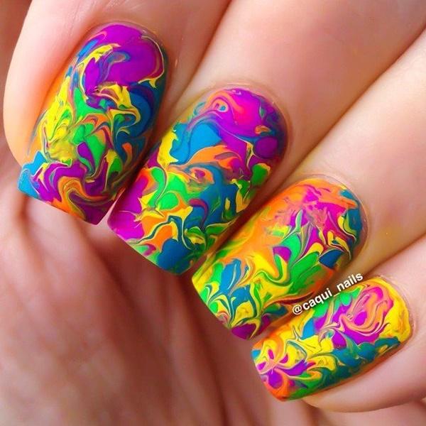 marble nail art designs (8)