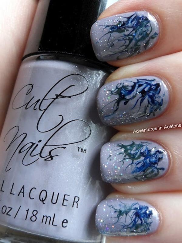 marble nail art designs (80)