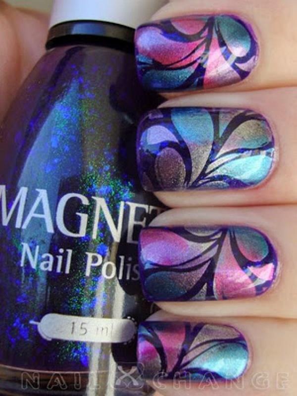 marble nail art designs (83)