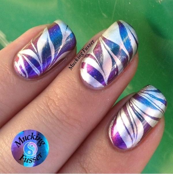 marble nail art designs (86)