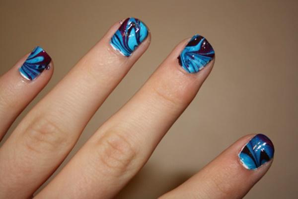 marble nail art designs (87)