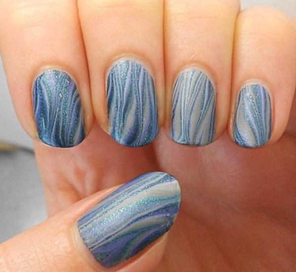 marble nail art designs (91)