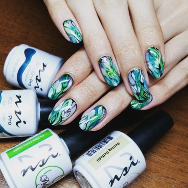 marble nail art designs (93)
