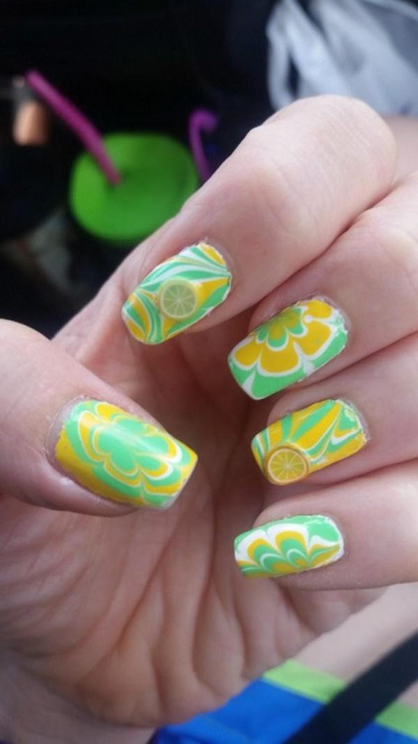 marble nail art designs (94)