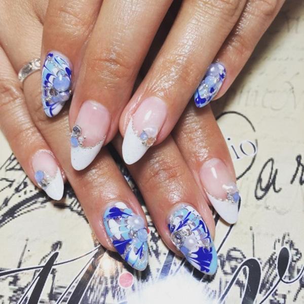 marble nail art designs (97)