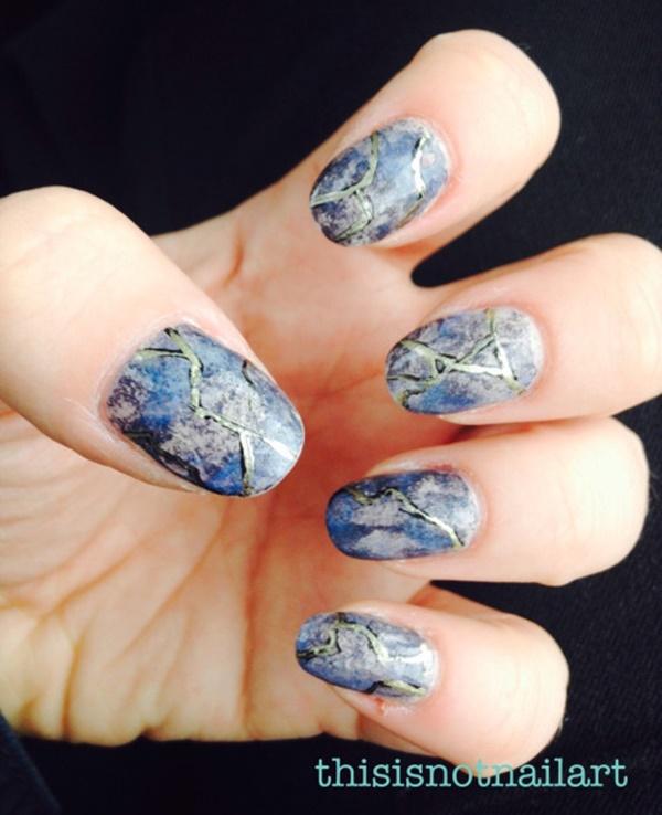 marble nail art designs (99)