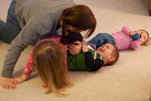 Family at play!