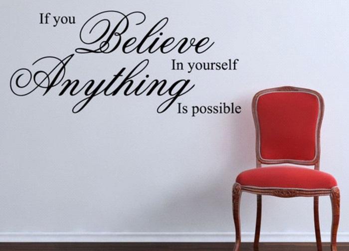 14. motivational wall sticker