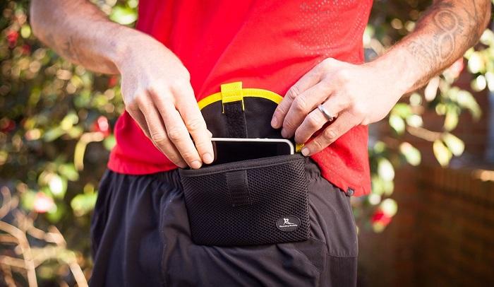17. running pouch