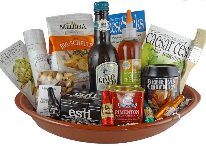 8. gourmet basket