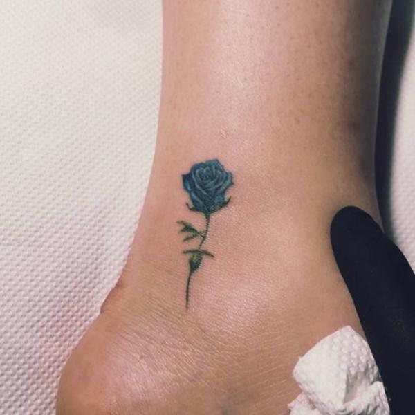 97 Flirty Ankle Tattoos That Showcase Your Feet