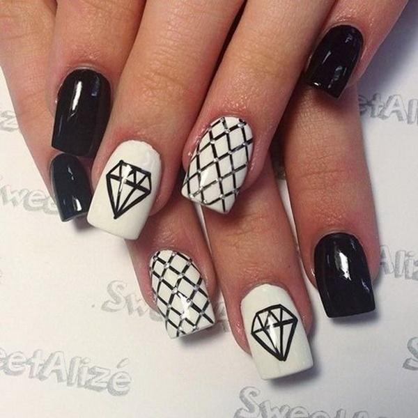 black-and-white-nail-art-22