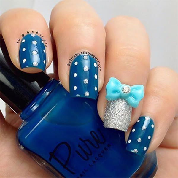 108 Bow Nail Art Designs